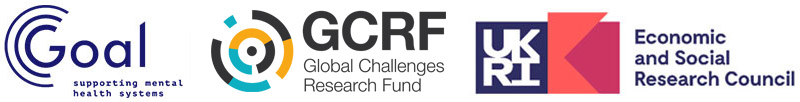 GOAL,GCRF and UKRI and ESRC logos