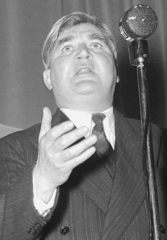 Caption: Aneurin Bevan1945 minister of health. Credit: Wikimedia