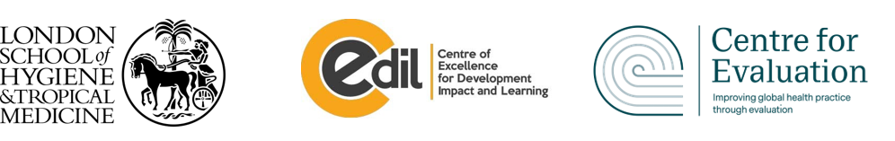 LSHTM, CEDIL, Centre for Evaluation