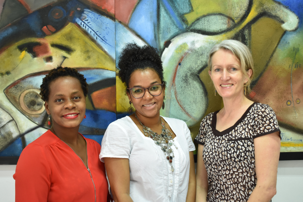 The CEDIL team from the International Centre for Reproductive Health in Mozambique.