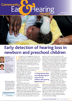 Community Ear and Hearing Health Journal: Issue 15
