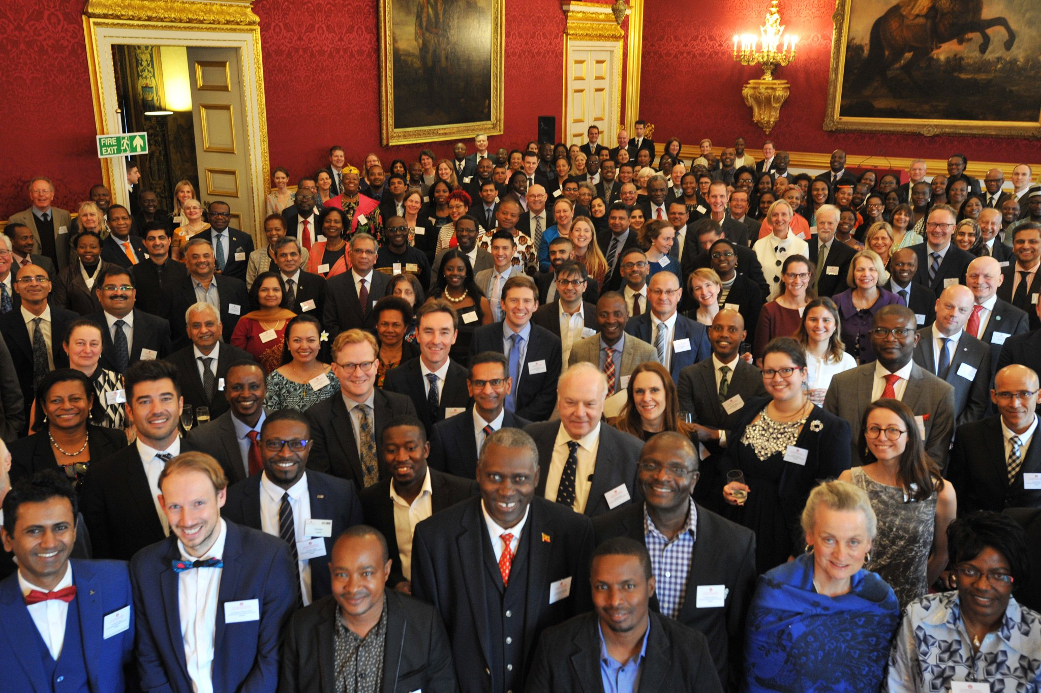 Caption: Commonwealth Eye Health Consortium at St. James's Palace. Credit: The Queen Elizabeth Diamond Jubilee Trust