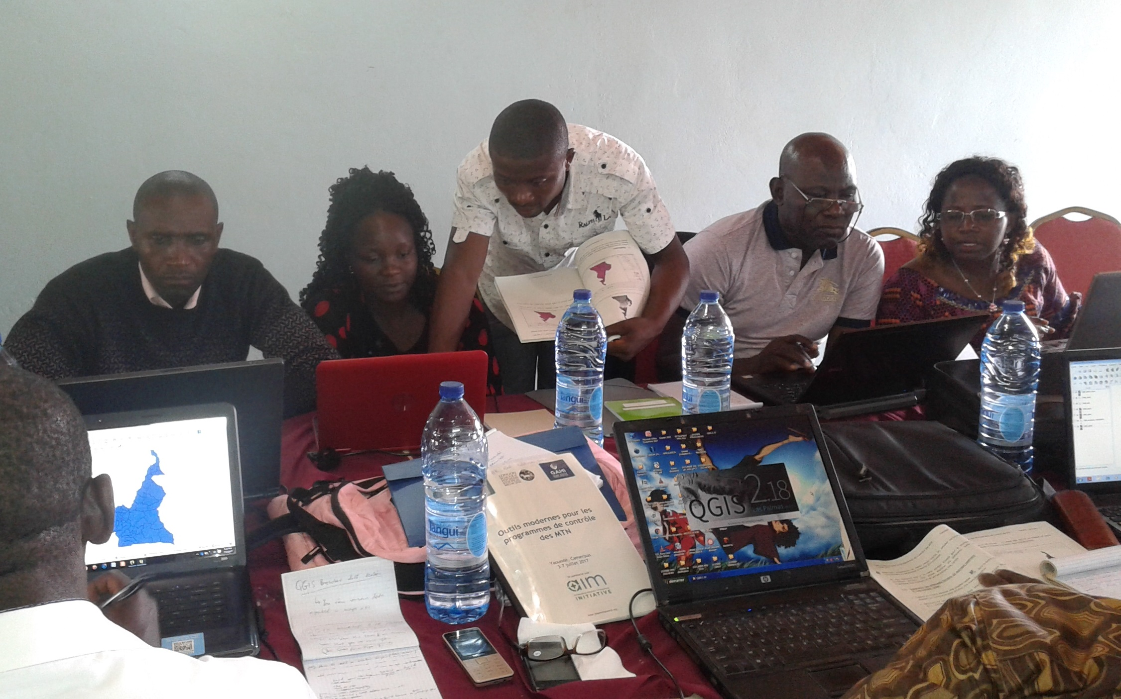 Training to create disease maps using NTD case-management and morbidity data