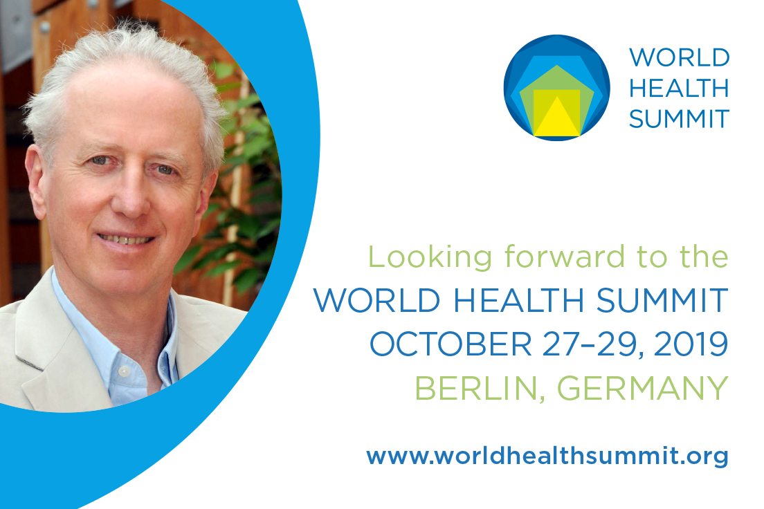 image of world health summit conference and andy haines