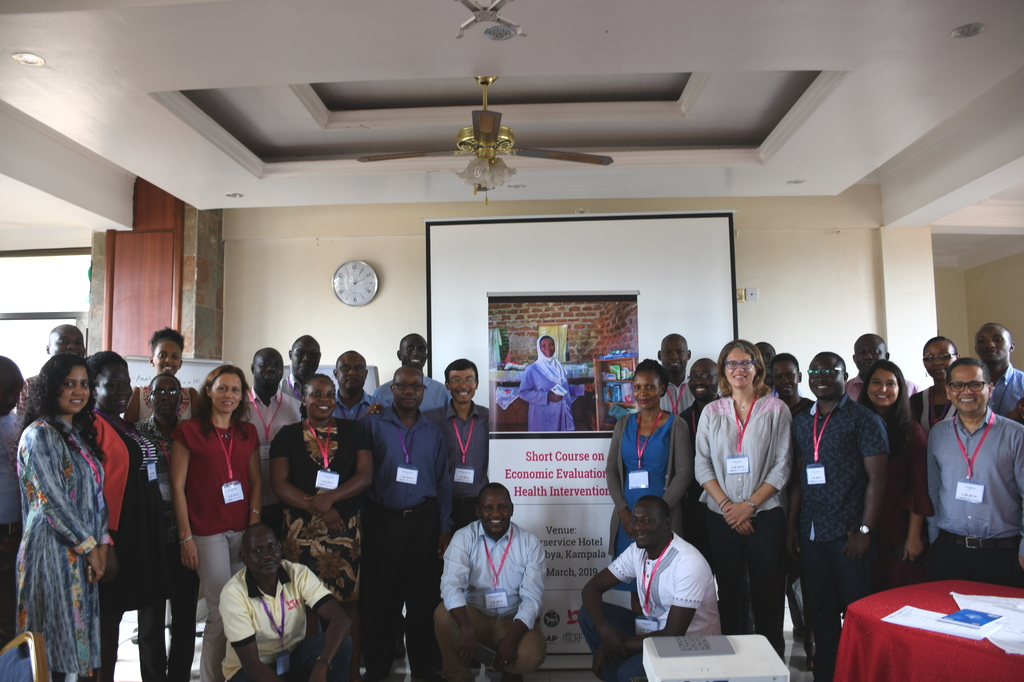 Participants at RECAP short course on economic evaluation for health interventions