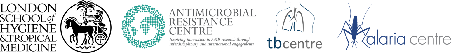 LSHTM AMR, TB and Malaria Centres