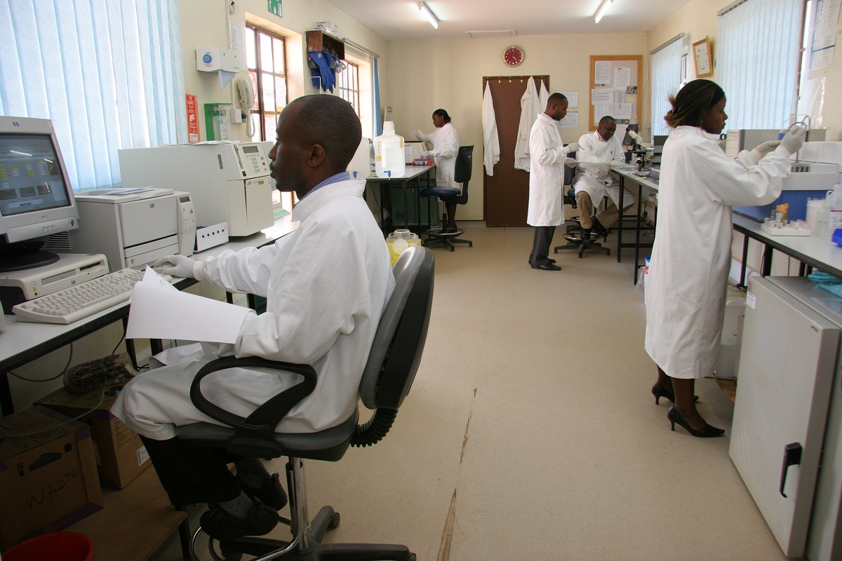 Masaka field station labs. Credit MRC/UVRI and LSHTM Uganda Research Unit