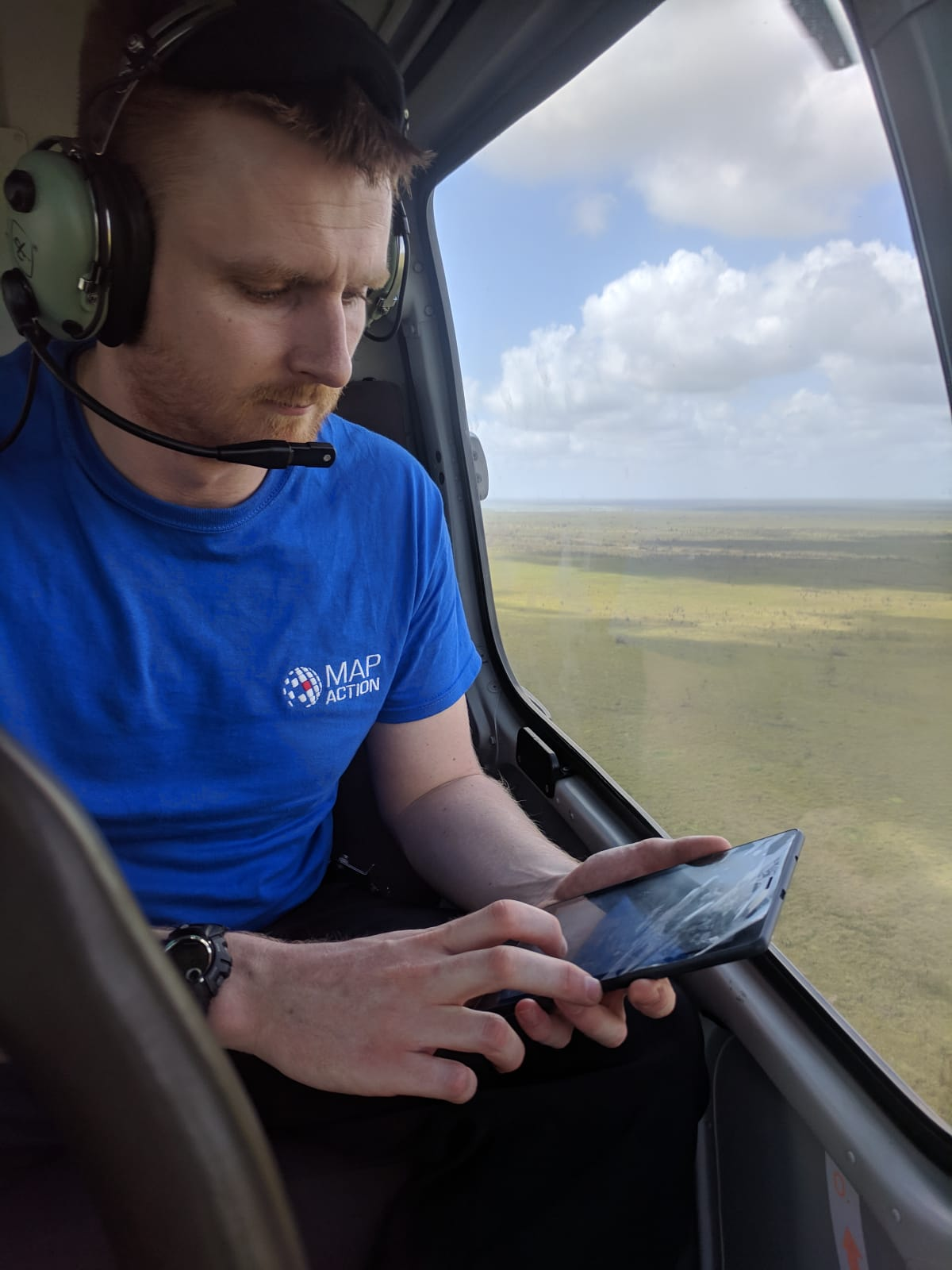 Dr. Chris Jarvis supporting response to Cyclone Idai
