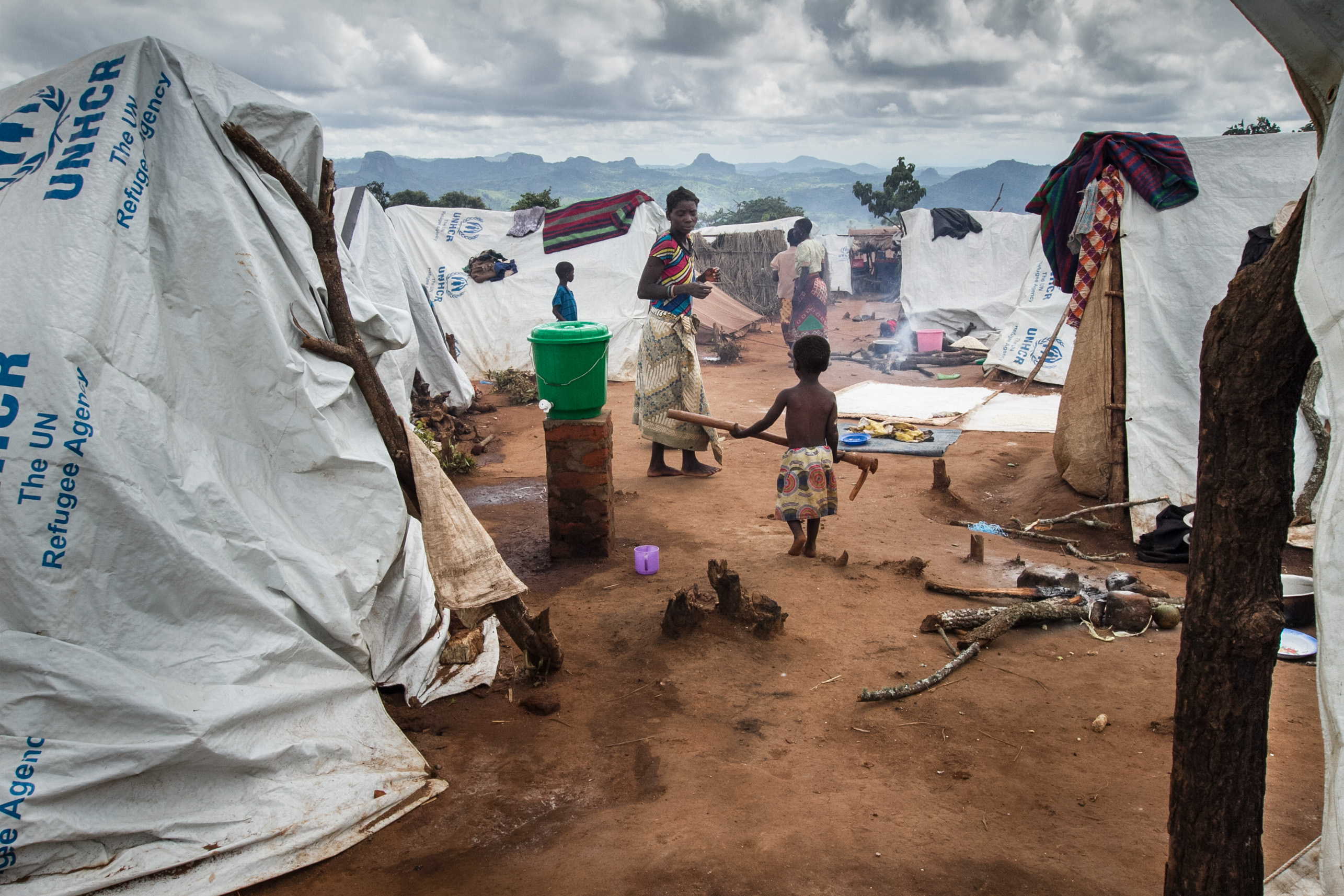 Kapise refugee camp for refugees from Mozambique, Mwanza, Malawi. © 2016 Erico Waga, Courtesy of Photoshare