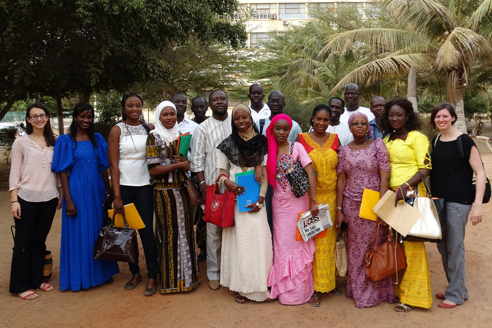 Data quality survey team, Senegal