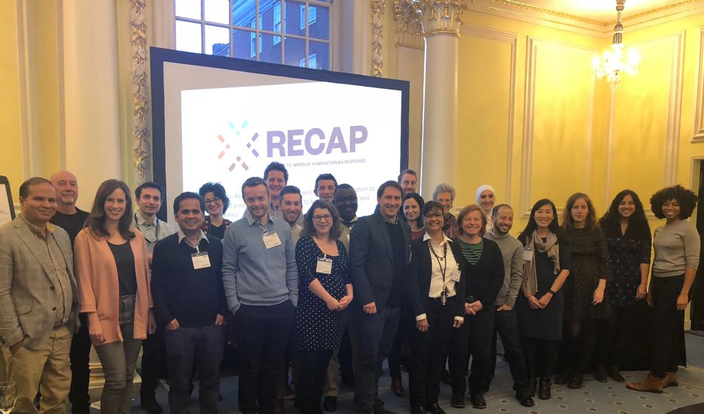 The RECAP team at the kick-off meeting in London February 2018