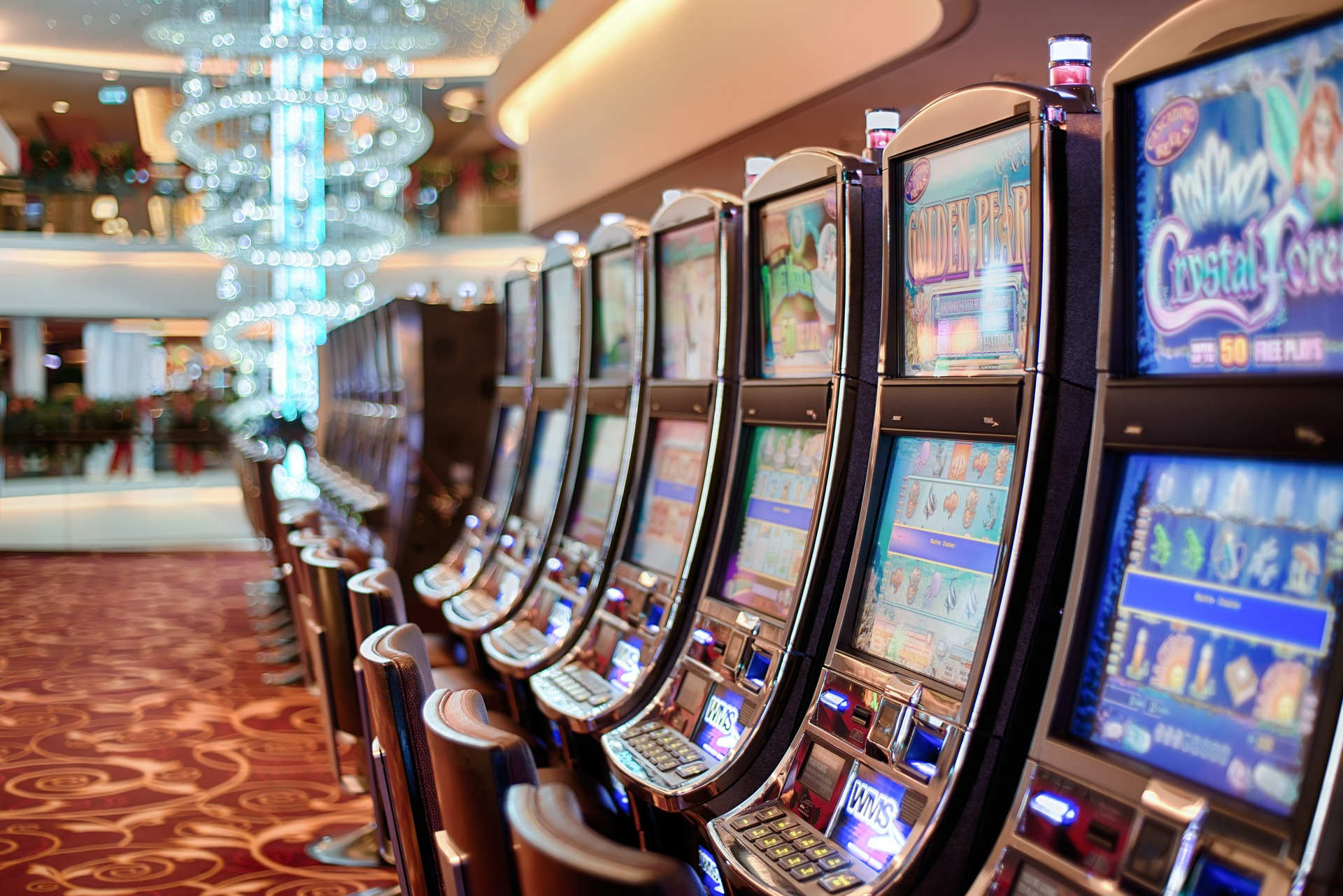 Slot machines. Credit: Pixabay/stokpic
