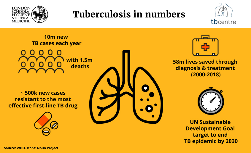 TB infographic - TB in numbers