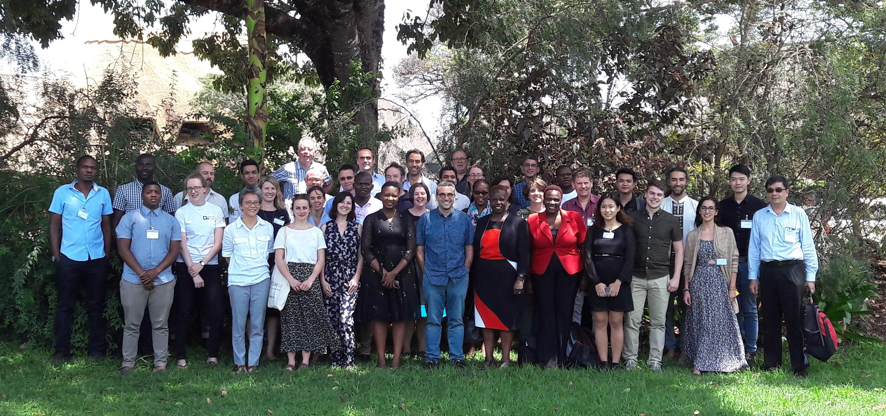 FIEBRE Study investigator meeting in Harare (December 2018). Credit: Ruth Lorimer