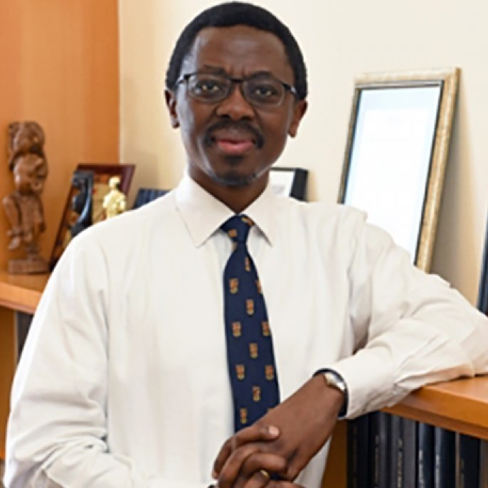 ​  Caption: Professor Bongani Mayosi Credit: University of Cape Town  ​