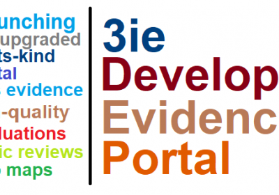 3ie Development Evidence Portal