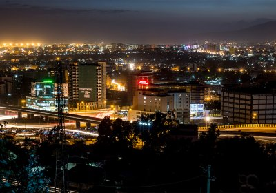 Addis Ababa evening pic