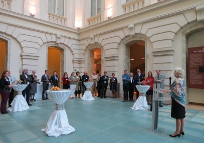 Alumni Reception Image
