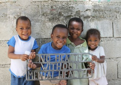 Children at Real Hope for Haiti in Cazale Haiti.