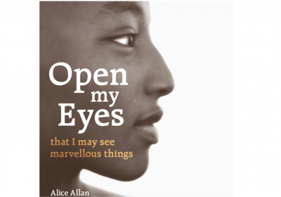 Open my eyes by Alice Allan - book cover