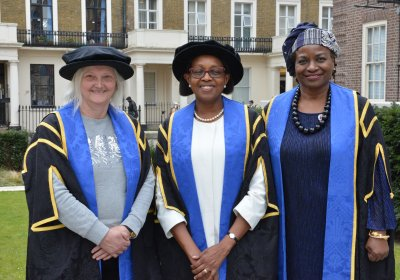 The three LSHTM Honorary Fellows