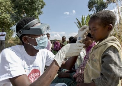 Caption: Emergency Trachoma Hospital in Ethiopia. Credit: Fred Hollows Foundation