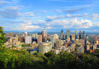 Montreal Skyline picture