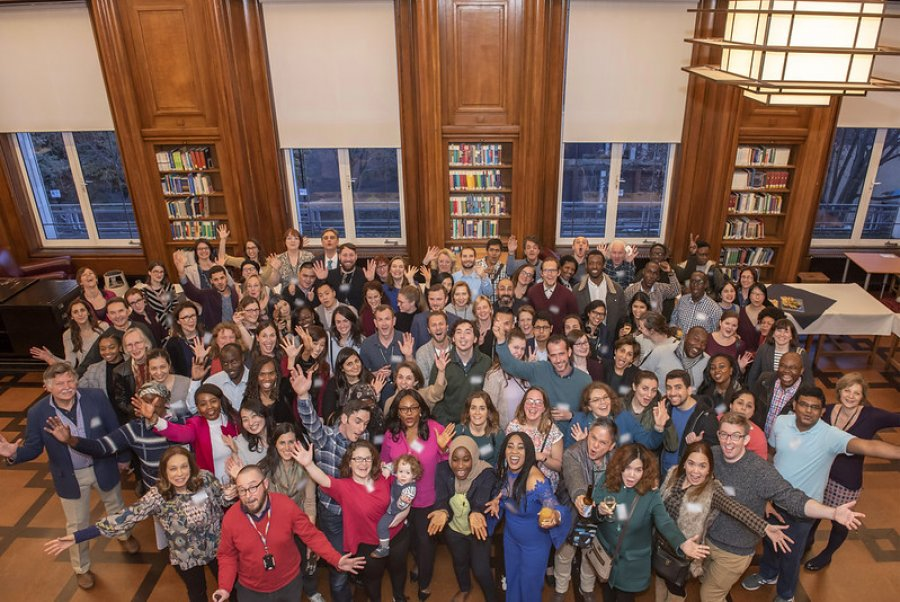 Distance Learning Reception 2019 - group shot 2019