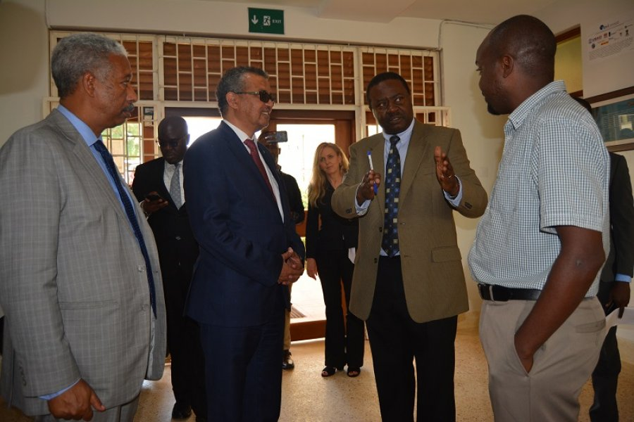Director-General of the World Health Organization visits ...