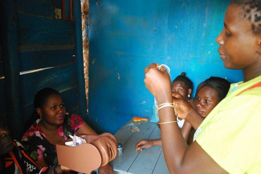 SRHR Uganda. Image Credit: Daniel McCartney/IPPF