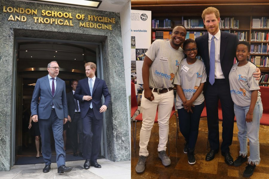 Prince Harry visits the London School of Hygiene & Tropical Medicine_Credit Getty Images for LSHTM