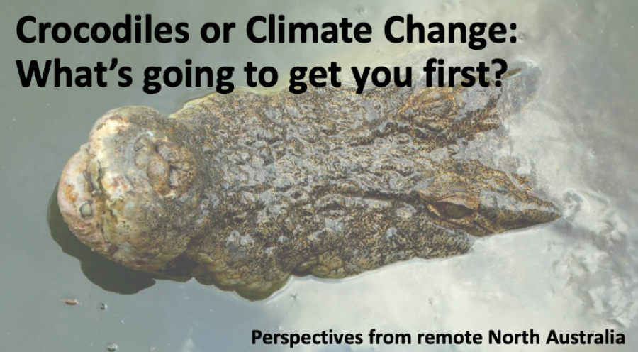 Crocodiles or climate change