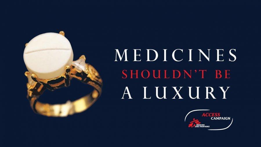 Medicines shouldn't be a luxury