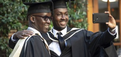 Distance learning graduates