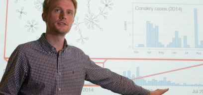 Adam Kucharski lecture on 2014 Ebola outbreak
