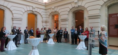 Brussels Alumni Reception, April 2015