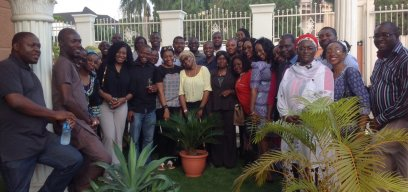 Nigeria Alumni Chapter Meeting, July 2015