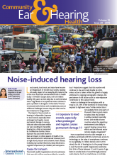 Front page of Noise-induced hearing loss journal